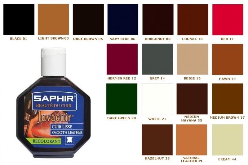 Saphir крем-краска для кожи